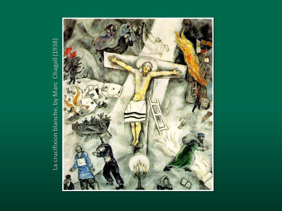 La crucifixion blanche, by Marc Chagall (1938)
