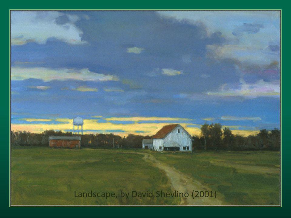Landscape, by David Shevlino (2001)