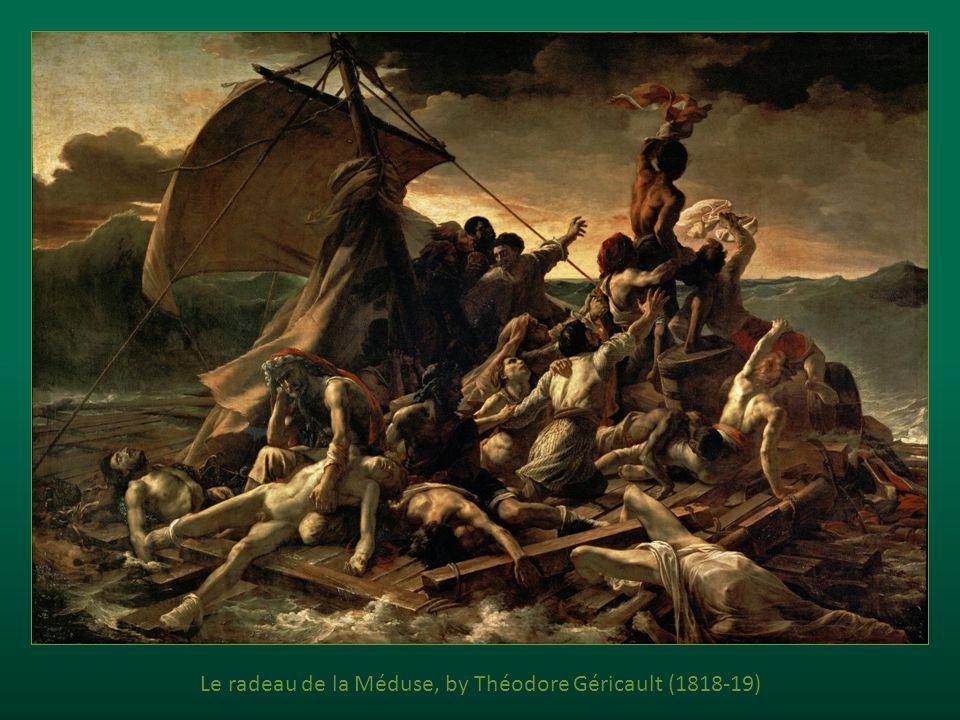 Le radeau de la Méduse, by Théodore Géricault (1818-19)