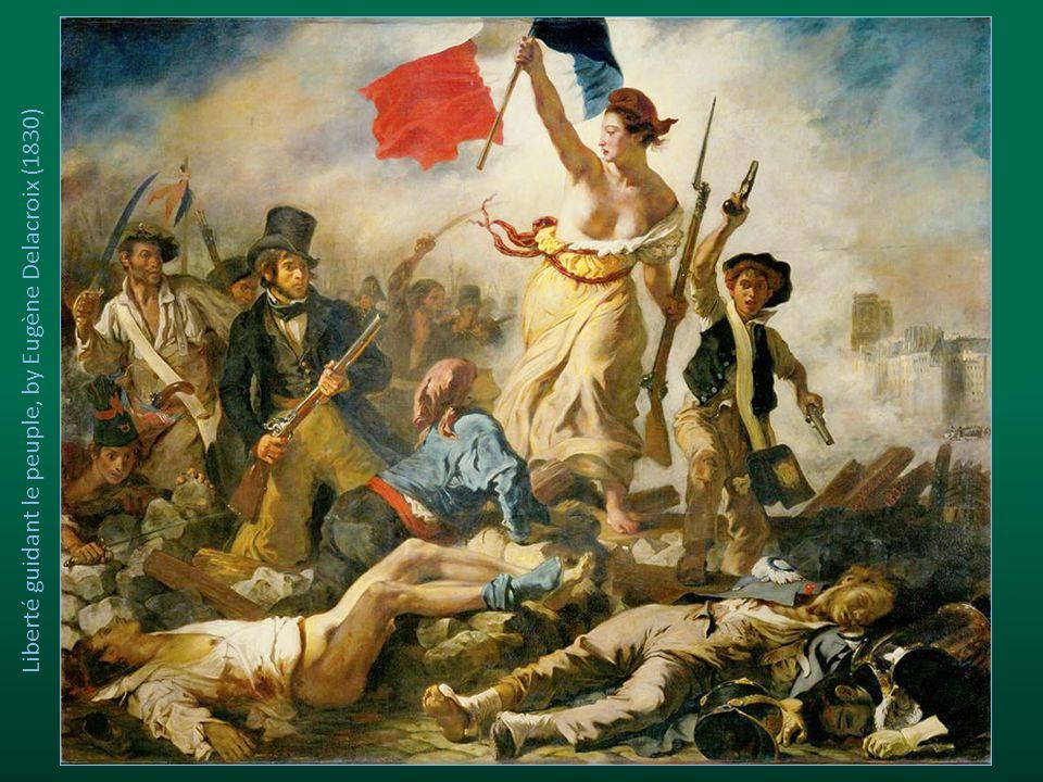 Liberté guidant le peuple, by Eugène Delacroix (1830)