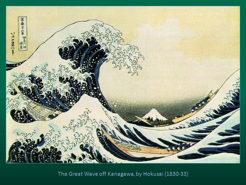 The Great Wave off Kanagawa, by Hokusai (1830-33)