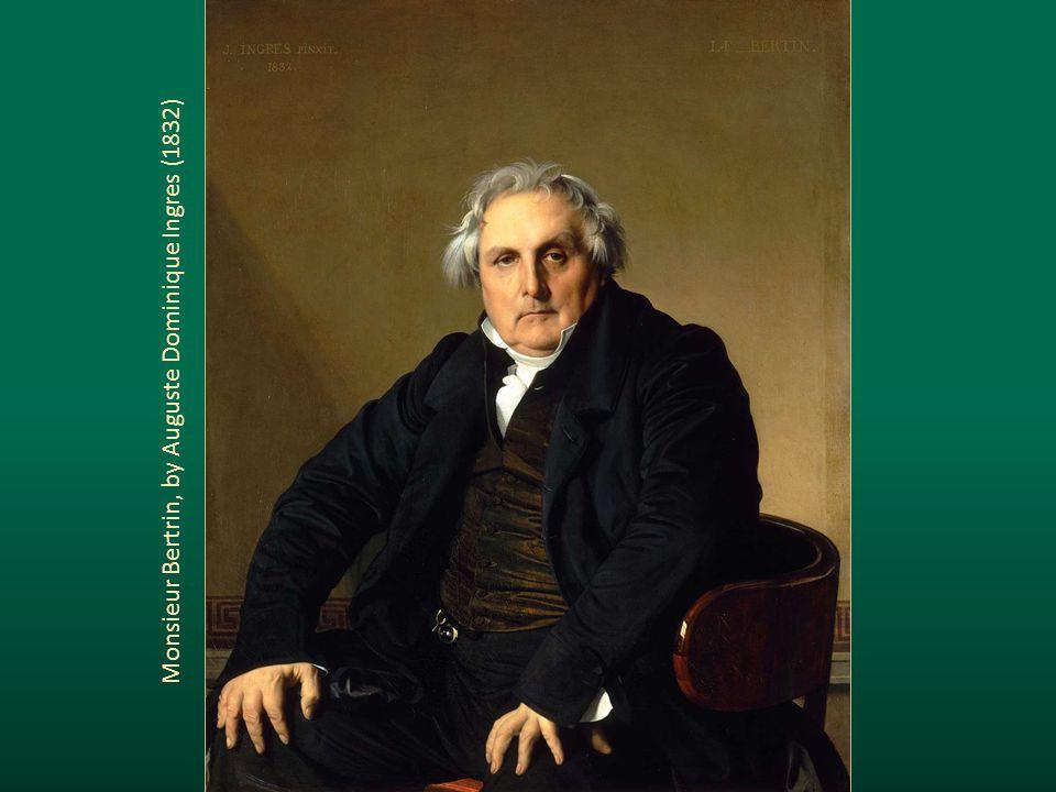 Monsieur Bertrin, by Auguste Dominique Ingres (1832)