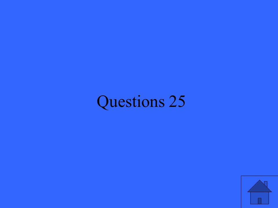 51 Questions 25