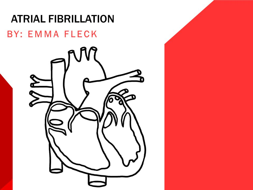 ANTICOAGULATION The presence of atrial fibrillation increases the patient's risk for developing arterial embolism and stroke, depending on the presence of other clinical conditions, such as hypertension and diabetes.