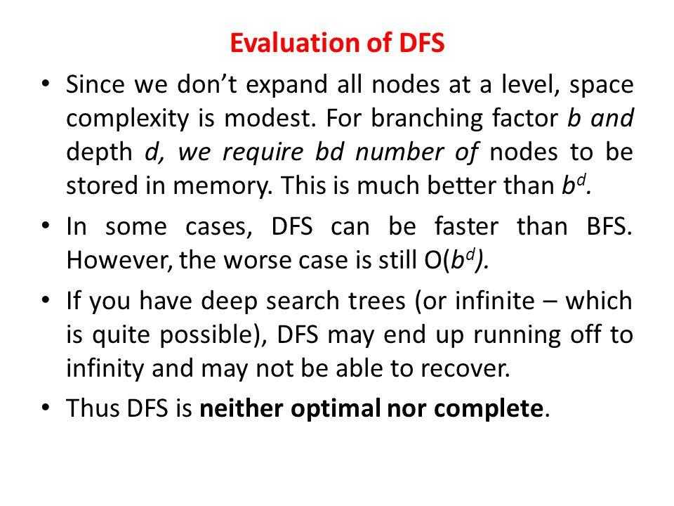 Depth-First Search 1 7 8 6 5 2 3 4 … SISI 1 2 3 4 5 6 7 8 8 Goal