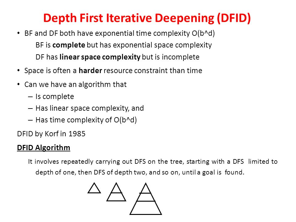 Depth Limited Search Depth limited search avoids the pitfalls of depth search by imposing a cut-off on the maximum depth of a path. Depth limited sear
