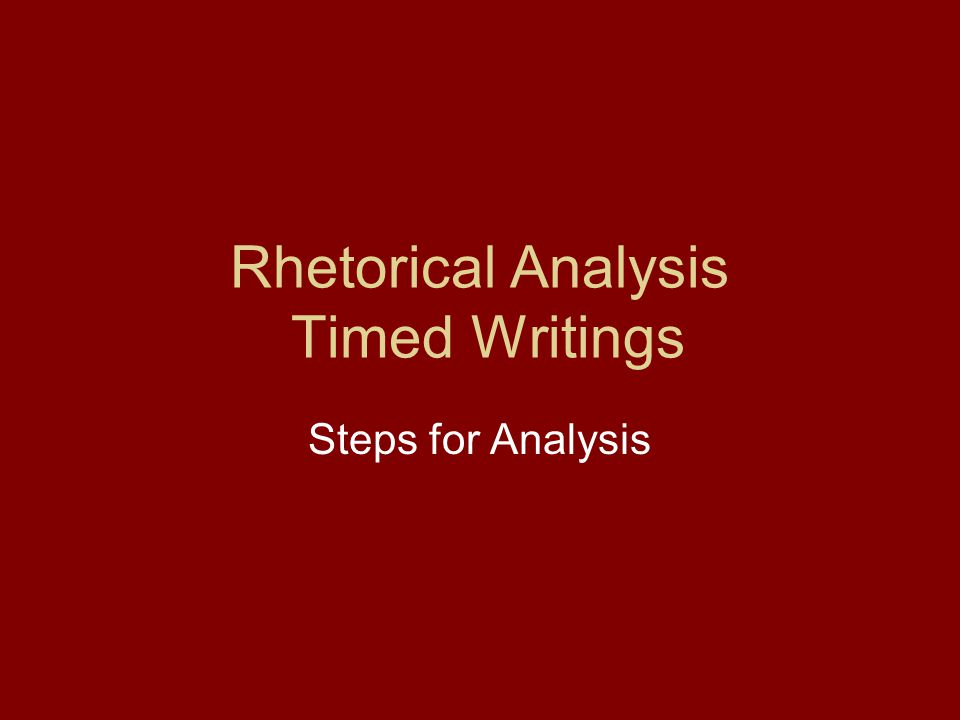 1.Dissect the prompt.Each rhetorical analysis prompt will have two components.
