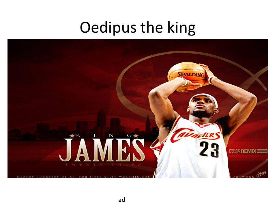 Oedipus the king ad