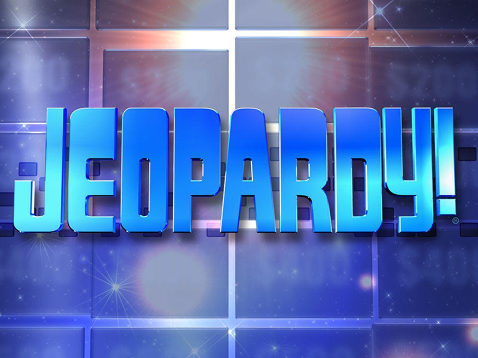 9 of 13 Jeopardy