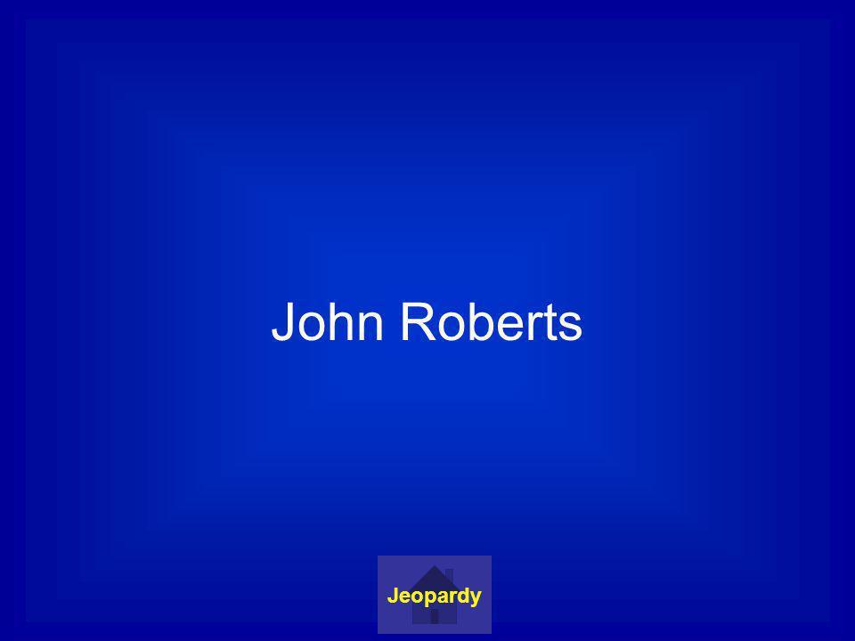 John Roberts Jeopardy