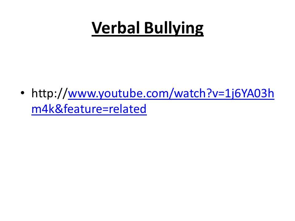 Social Bullying http://www.youtube.com/watch?v=JnP2bVBZ 9O8 http://www.youtube.com/watch?v=JnP2bVBZ 9O8