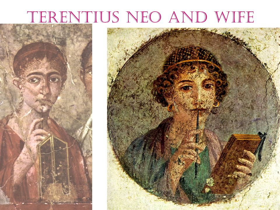 Terentius Neo and wife