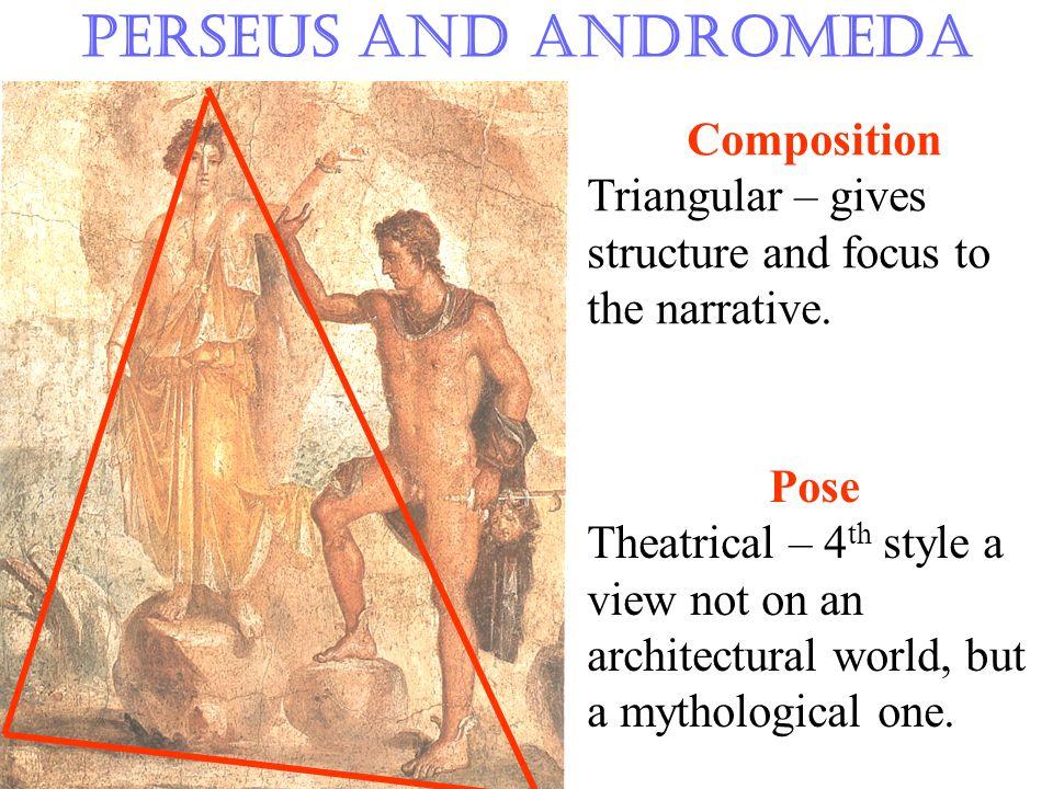 Perseus and Andromeda Drapery  Catenary folds  Zig-zag folds  Irregularity – naturalism  Layering – volume  Highlighting – depth and body beneath
