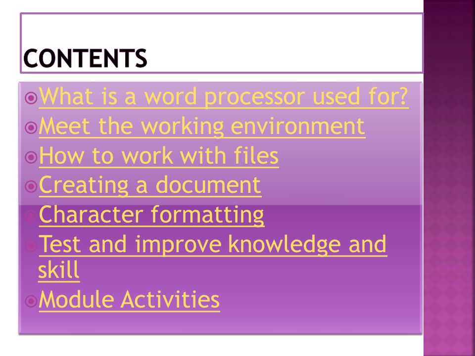  What is a word processor used for. What is a word processor used for.