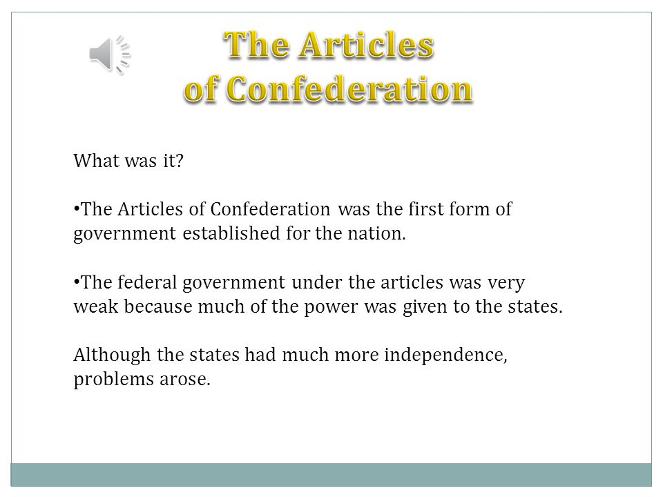 a.Powers of the central government vs. the states.