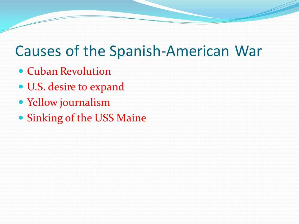 Cuban Revolution Cuba under Spain's control.