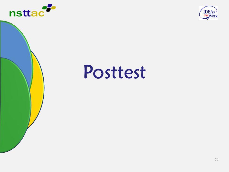 56 Posttest