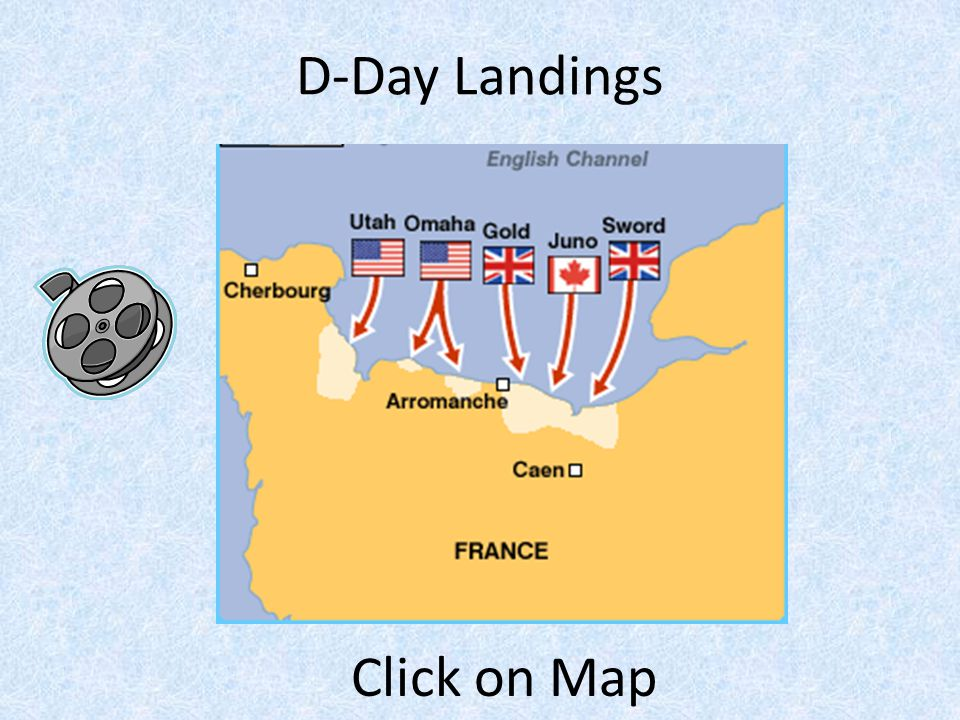 D-Day Landings Click on Map