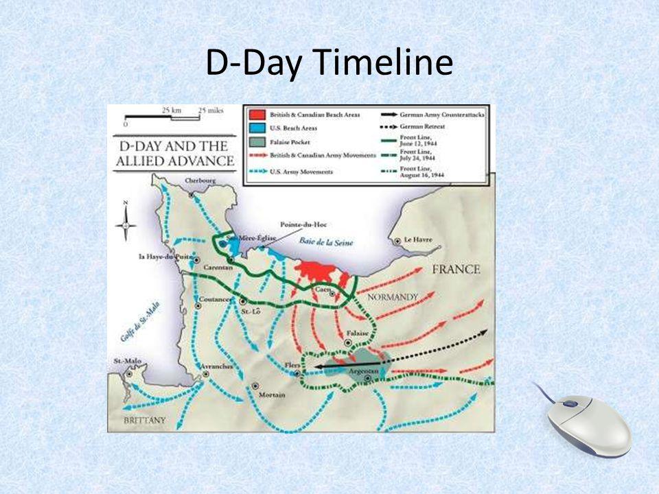 D-Day Timeline