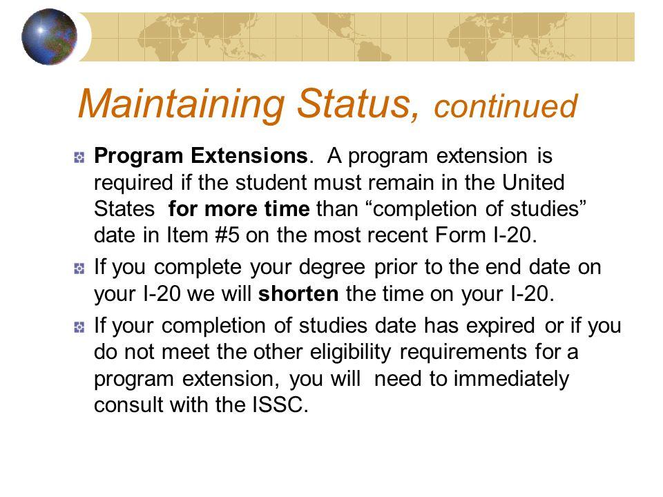 Program Extensions.