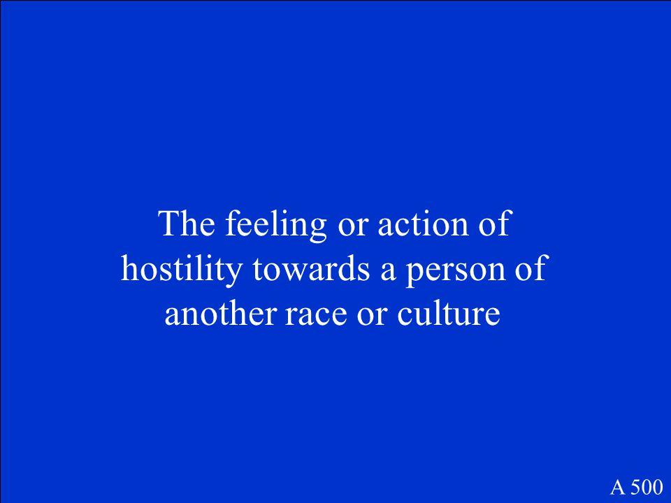 Cultural Gap A 400