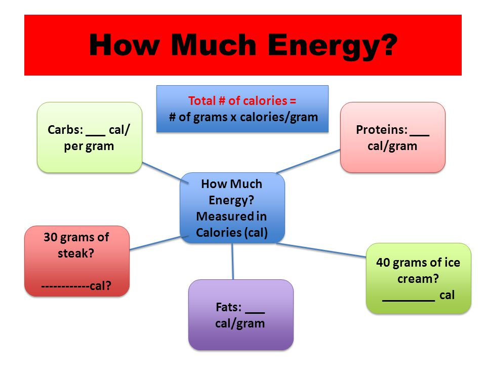 How Much Energy.How Much Energy.