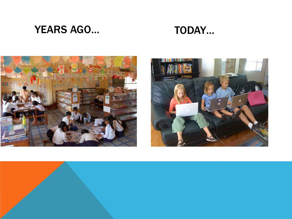 YEARS AGO… TODAY…