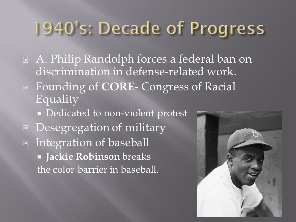  NAACP focuses on attacking racism through the courts  1930's: began attacking separate but equal .