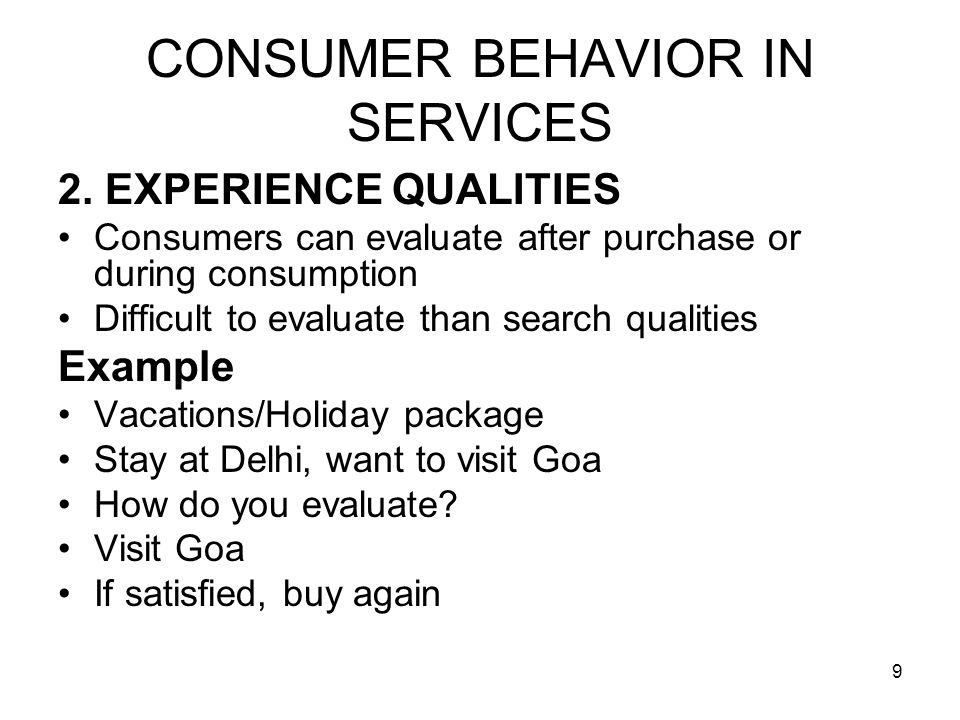 20 CONSUMER BEHAVIOR IN SERVICES CUSTOMER COMPATIBILITY When you are visiting hospital, airlines, restaurant or a bank How do you feel when there is overcrowding Misbehavior of neighboring customers Dissatisfied Compatibilty of customers is critical