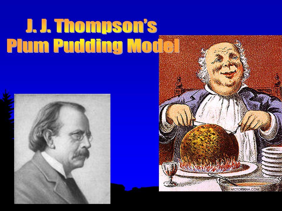 J.J. Thompson – 1898 l Thompson took advantage of new technology – the cathode ray tube.