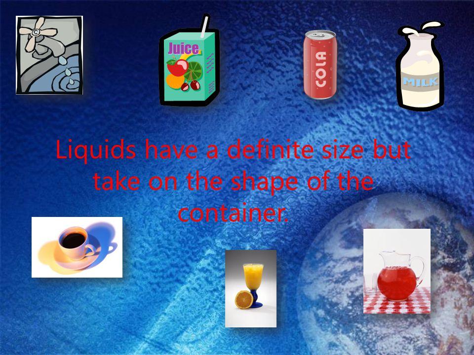 How are liquids alike? Think-Pair-Share: