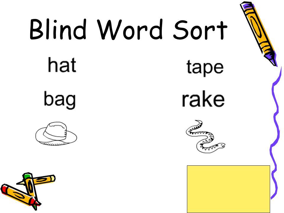 Blind Word Sort