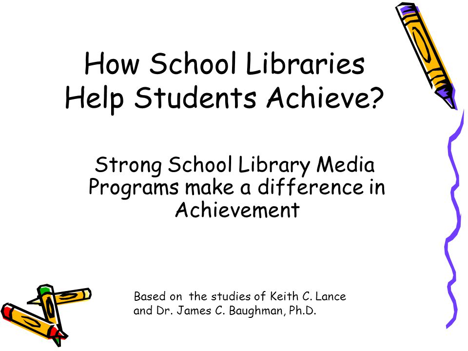The successful implementation of the curriculum frameworks depends immeasurably on a strong school library program.