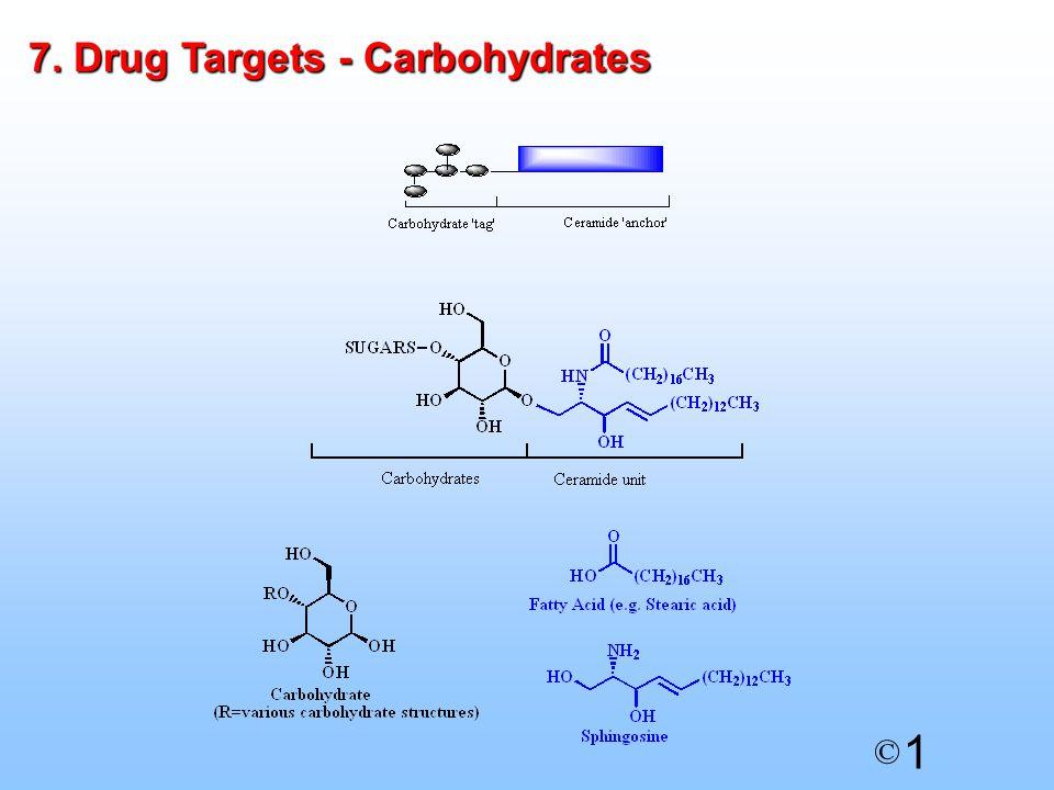 1 © 7. Drug Targets - Carbohydrates