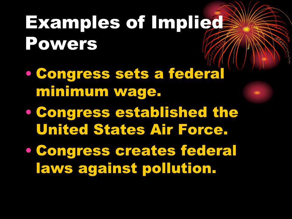 Non-legislative Powers These are powers that enable the government to operate more effectively and help Congress serve as a check on the other branches of government.