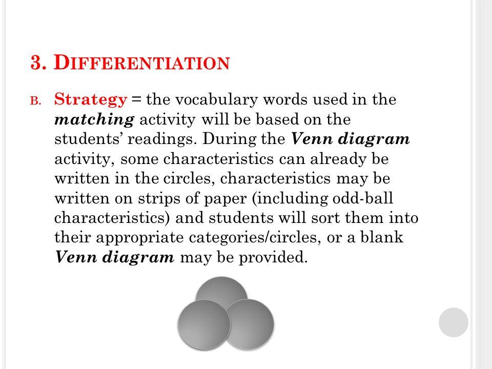 3. D IFFERENTIATION B.