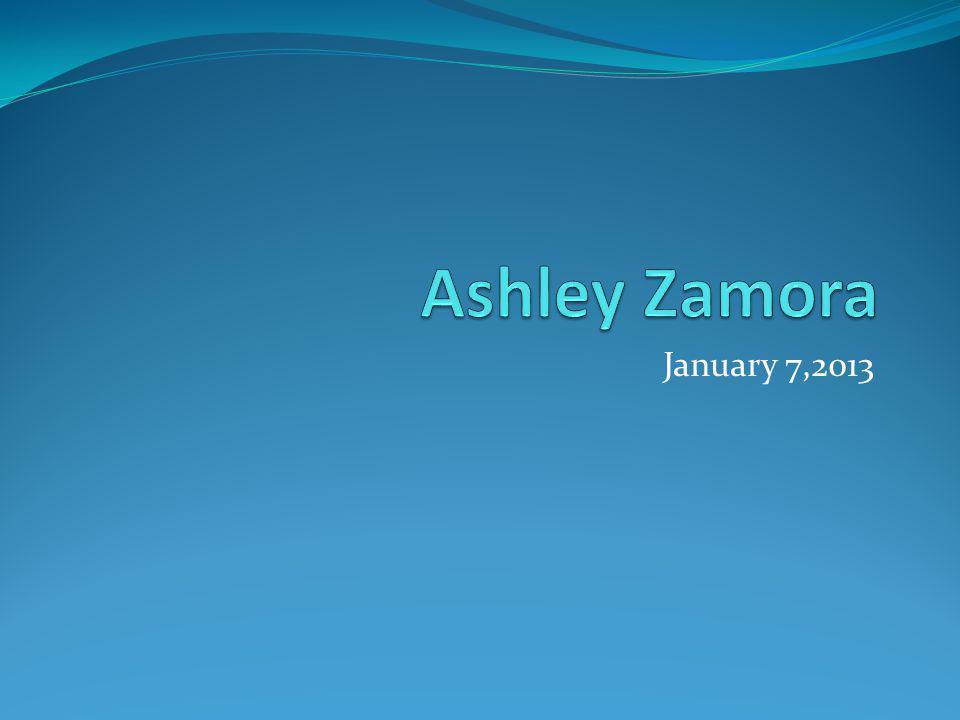 January 7,2013