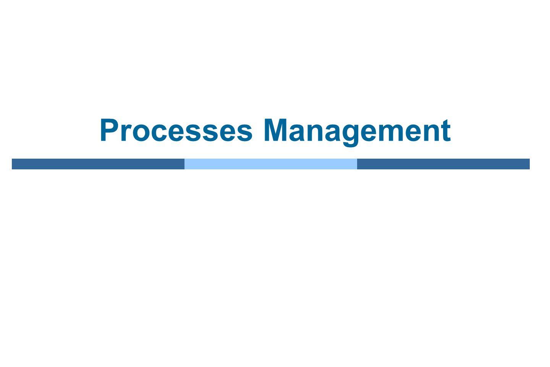 Processes Management