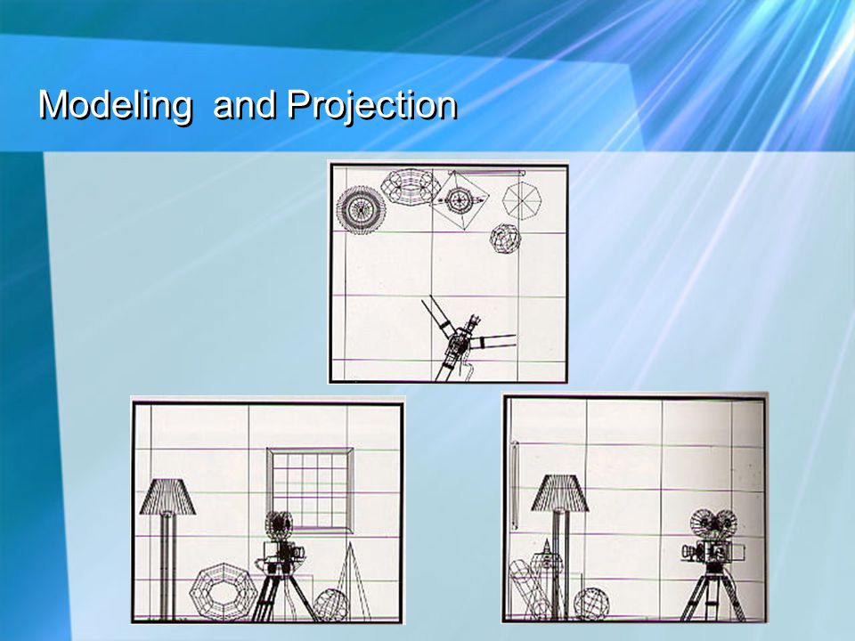 Modeling and Projection