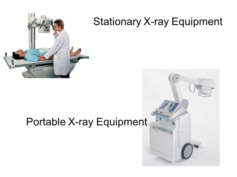 Stationary X-ray Equipment Portable X-ray Equipment