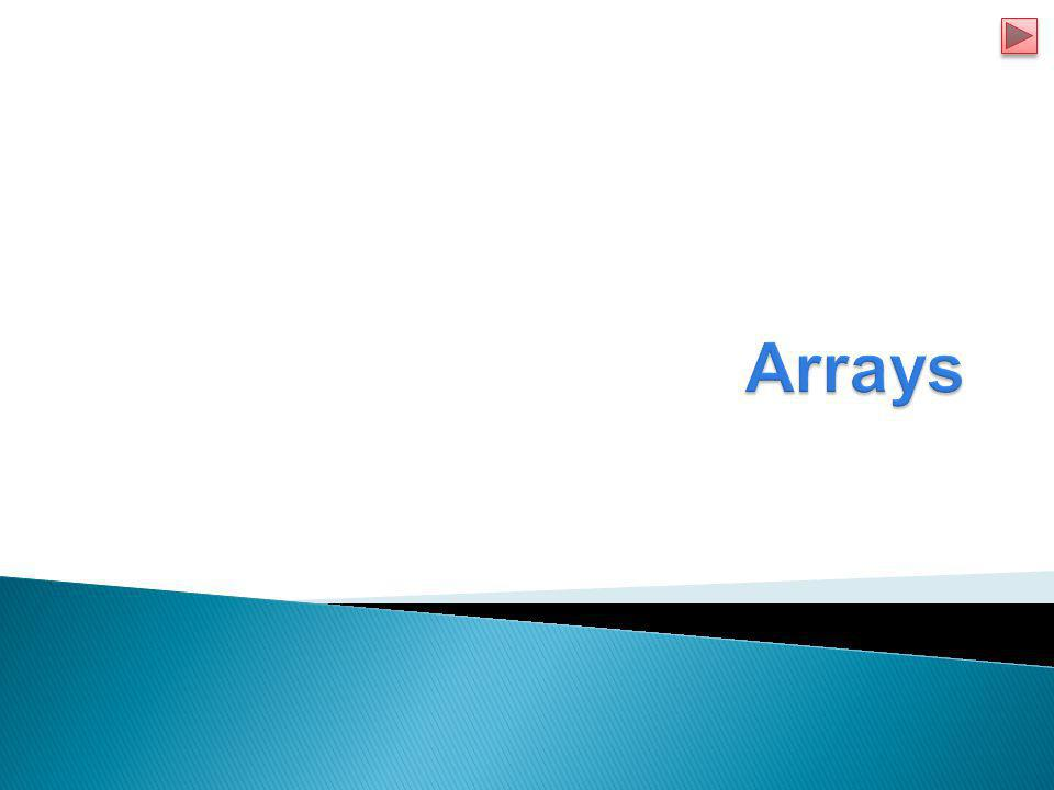  Arrays  Declaring and Creating Arrays  Examples using Arrays  Enhanced for Statement  Passing Array Methods  Multi Dimensional Array Topics