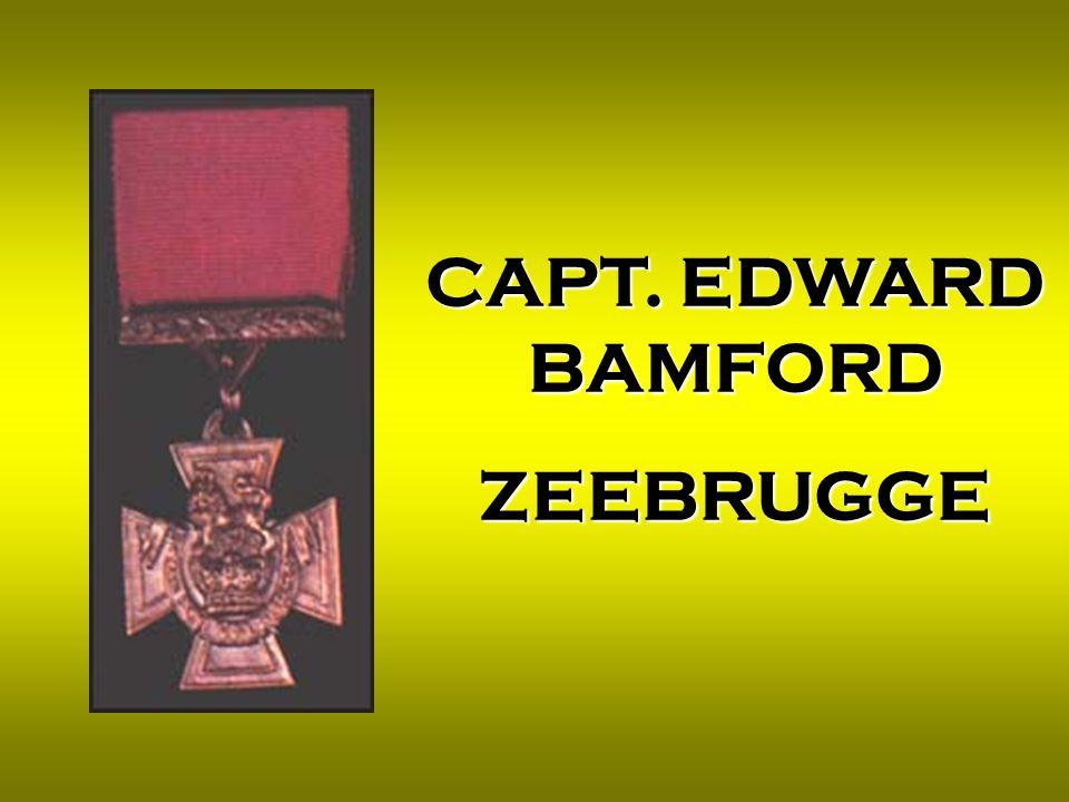 CAPT. EDWARD BAMFORD ZEEBRUGGE