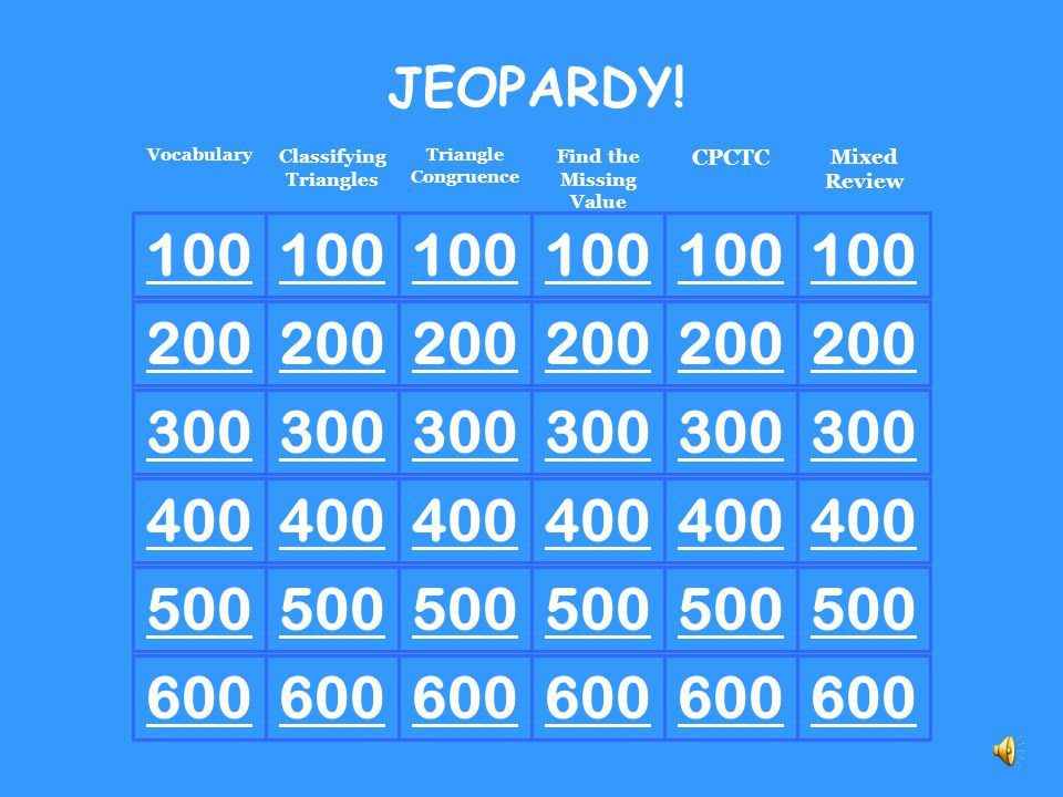 Vocabulary 500 Equilateral Triangle