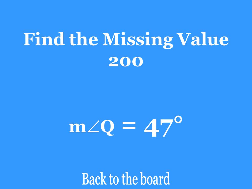 Find the Missing Value 200