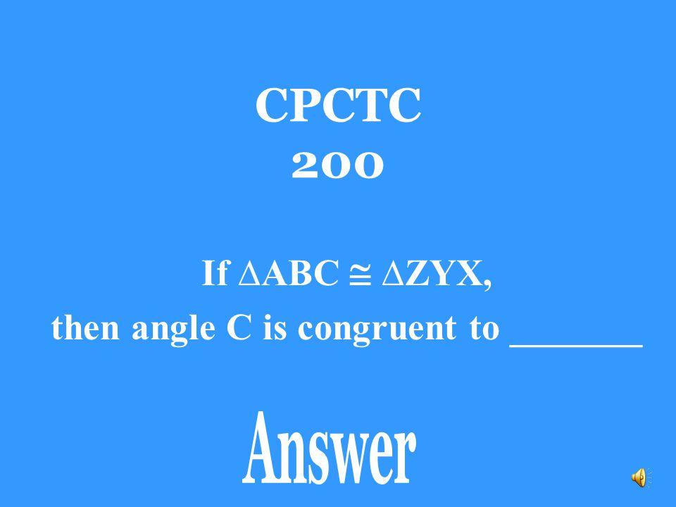 CPCTC 100 Side ZY