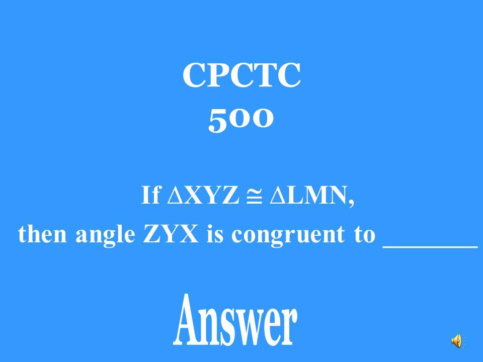 CPCTC 400 Side ZX