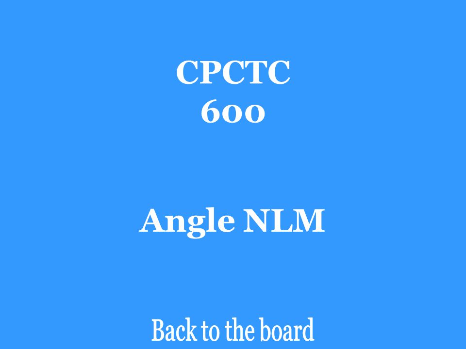 CPCTC 600 If ∆XYZ  ∆LMN, then angle ZXY is congruent to _______