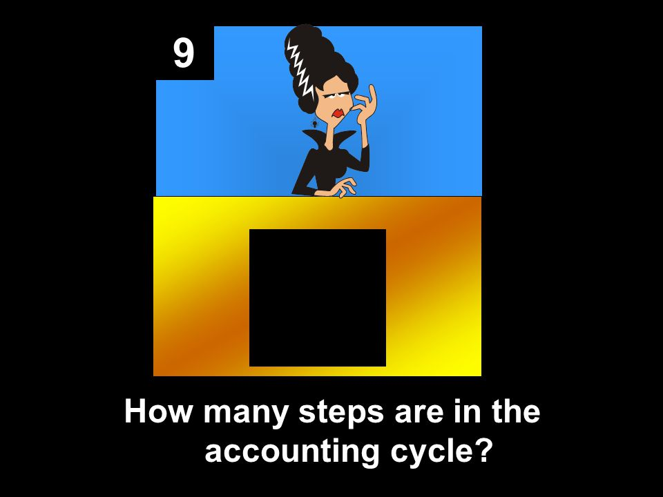 9 How many steps are in the accounting cycle?