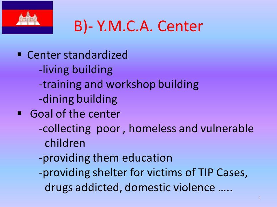 B)- Y.M.C.A.