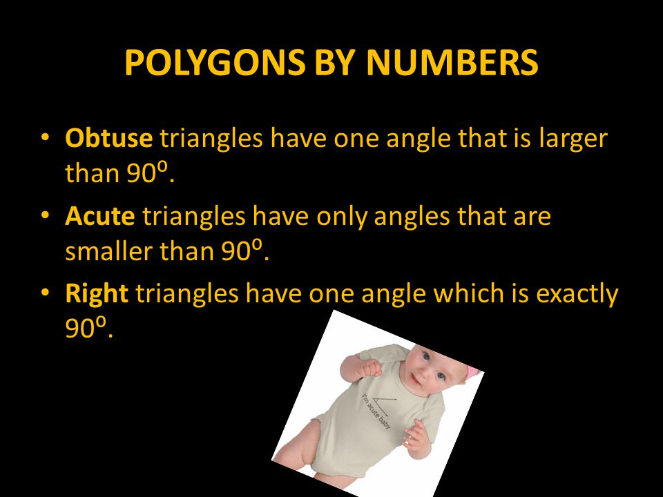 POLYGONS BY NUMBERS